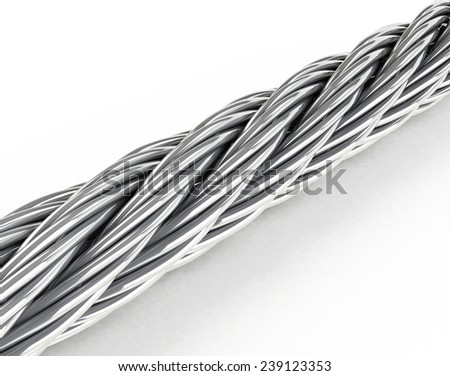 the steel rope