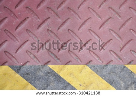 The step in to the warehour - stock photo