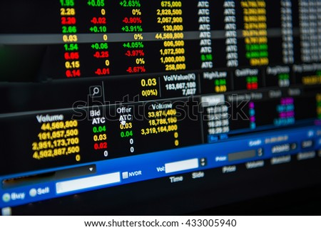The stock last Before closing the purchase - sale of securities.