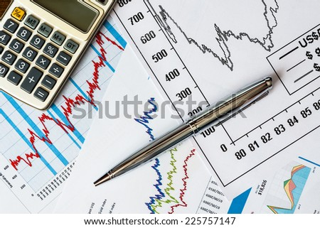 The stock price, to calculate and write the result