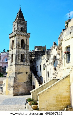 the stones of Matera,