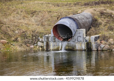 how to tell if water is flowing through a pipe
