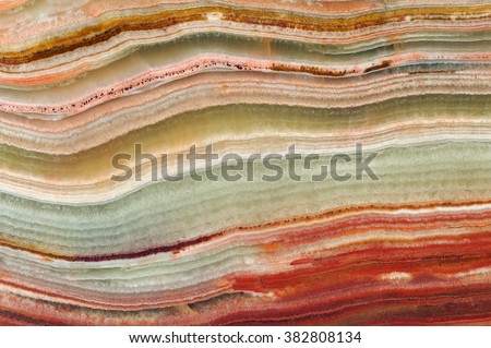 The structure of the variegated onyx / texture of natural stone, onyx, marble, agate - stock photo