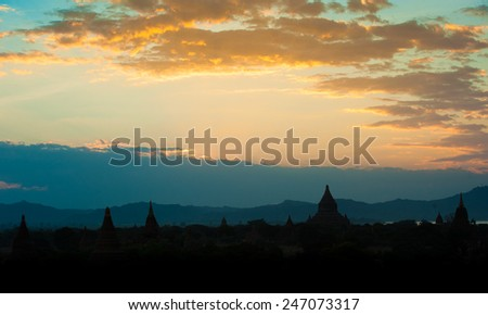 Sunrise Landscape Stock Photos RoyaltyFree Images Vectors - This man hikes up the transylvanian mountains every morning to photograph sunrise