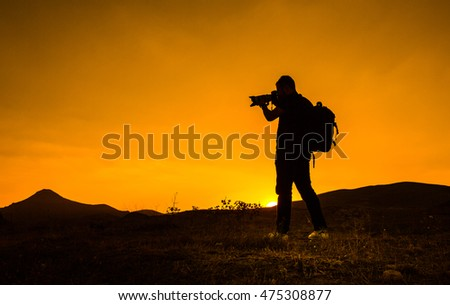 The sunset events Explorer photographer