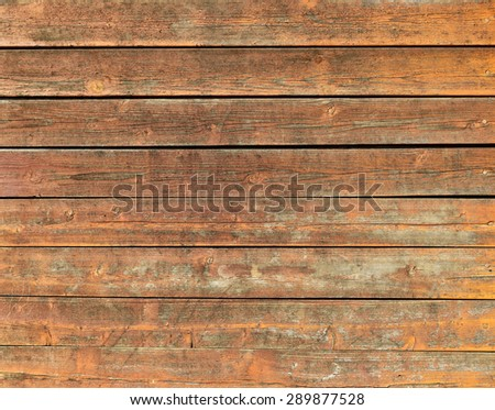 the surface of the old shabby wooden  background