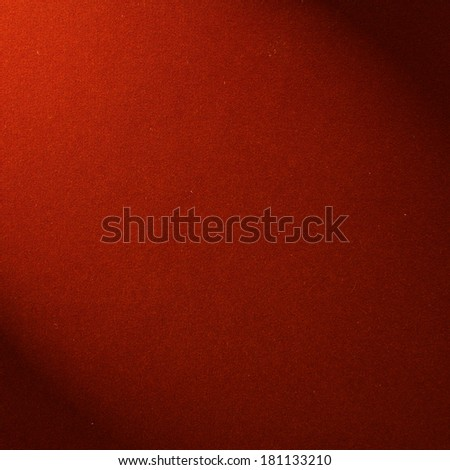The surface of the red velvet cover on the poker table - stock photo