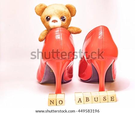 Symbol Violence Against Women Stock Photo 449583196 Shutterstock