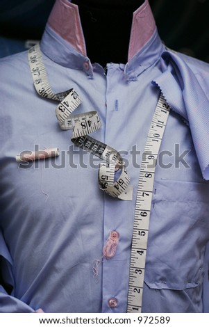 The Tailor- noise - stock photo
