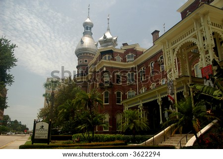 The Tampa Bay Hotel built by Henry Flagler, now the University of Tampa