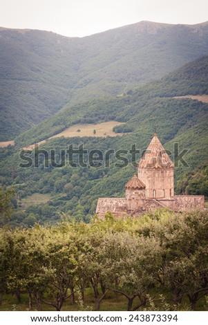 The Tatev monastery, Armenia - stock photo