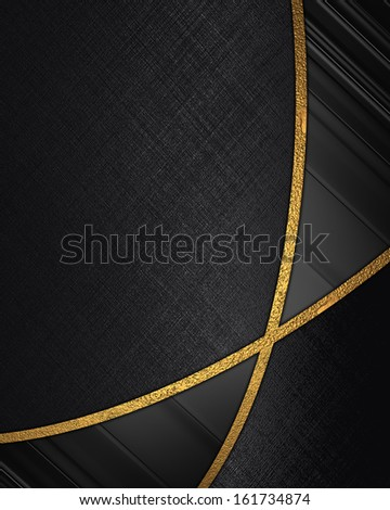 The template for the inscription. Abstract black background with black inserts. - stock photo