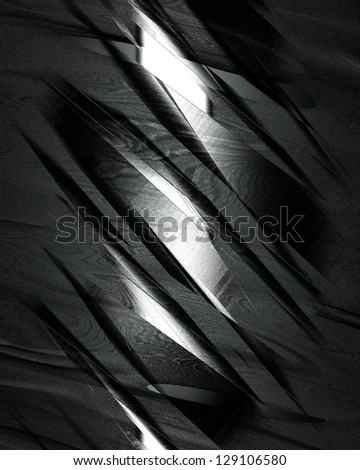 The template for the inscription. Beautiful metal background. - stock photo