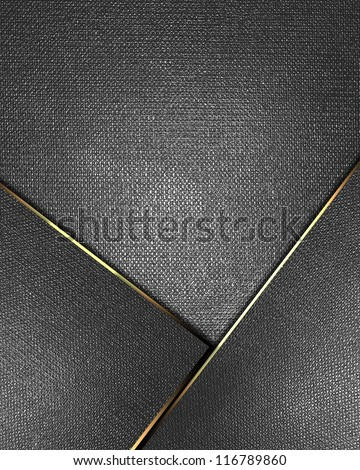The template for the inscription. Metal Background with metal nameplate for writing. Abstract background. - stock photo