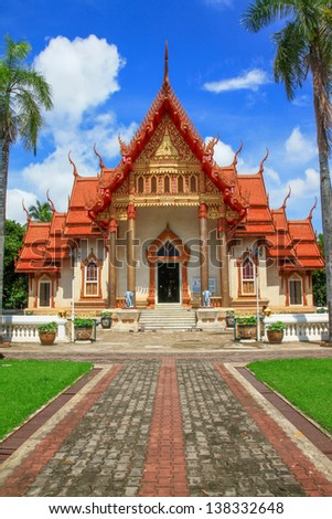 The Temple in Thailand - stock photo