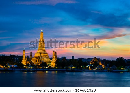 The Temple of Dawn - stock photo
