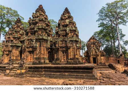 The temples of Angkor Wat National park