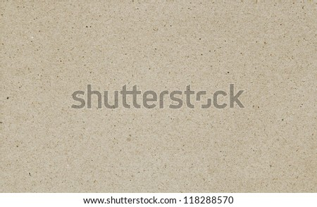 The texture of blank recycled paper - stock photo