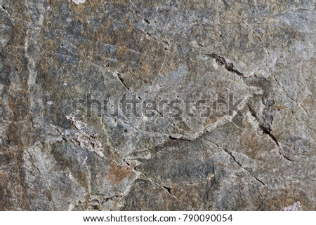 The texture of granite slabs