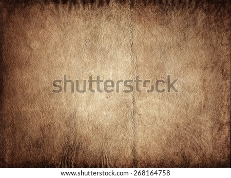 The texture of old leather - stock photo