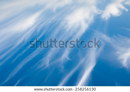 The texture of the clouds. photo Outdoors - stock photo