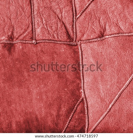 the texture of the wrong side of a fur coat painted red. Useful as background