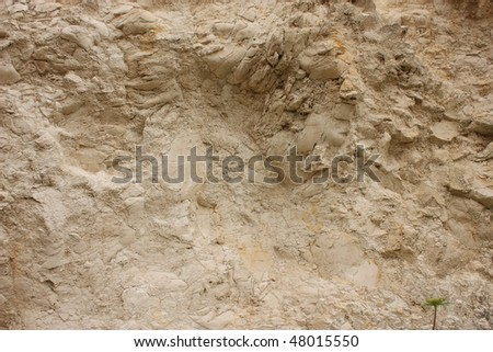 The texture of white stone. - stock photo
