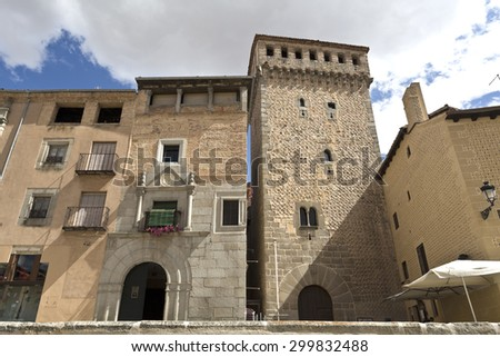 The Torreon the Lozoya (Lozoya Tower) is a defensive tower built in the early fourteenth century in Segovia, Spain