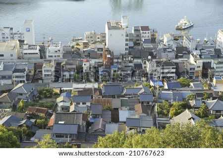 The Town Of Onomichi
