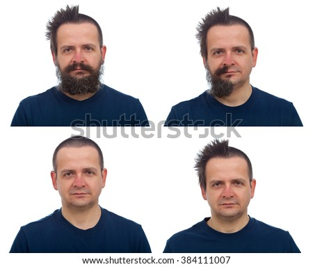 Swell Man Shaggy Hair Stock Photos Royalty Free Images Amp Vectors Short Hairstyles For Black Women Fulllsitofus