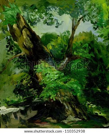The tree - stock photo