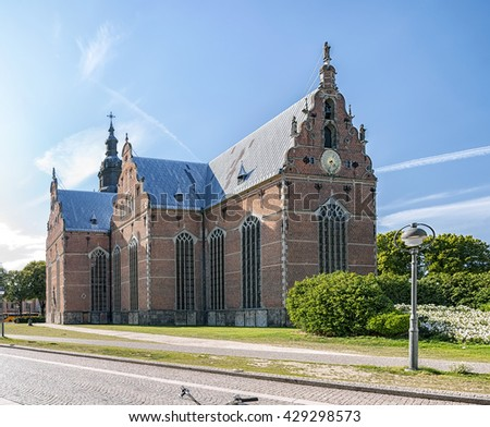 The trinity church is one of the oldest and largest buildings in the Swedish city of Kristianstad.