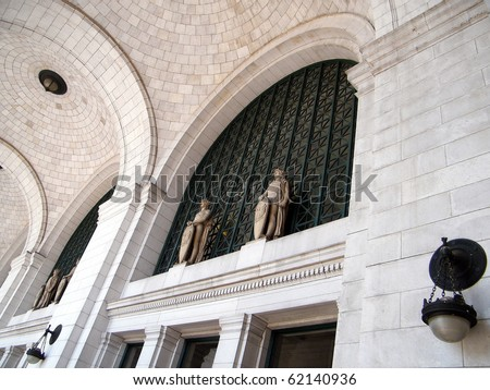 The Union Station in Washington DC, USA - stock photo