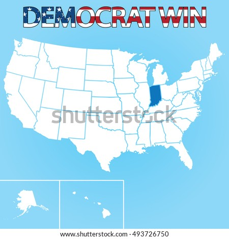 The United States Election Ilration For Indiana