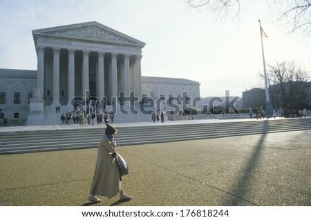 The United States Supreme Court Building, Washington, D.C. - stock photo