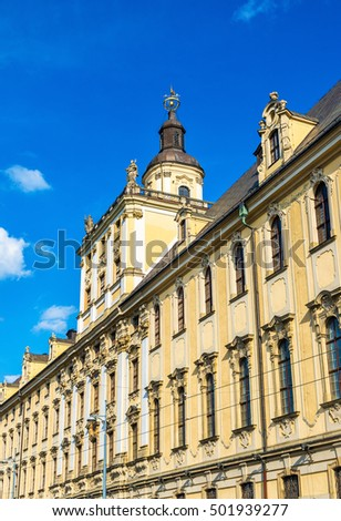 The University of Wroclaw, the main building - Poland