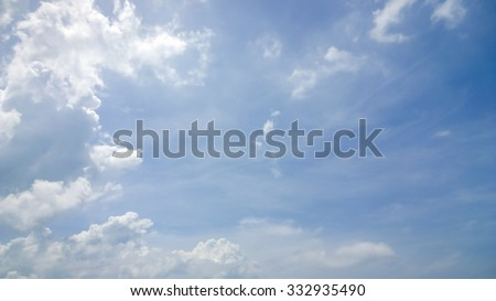 the very soft cloud - stock photo