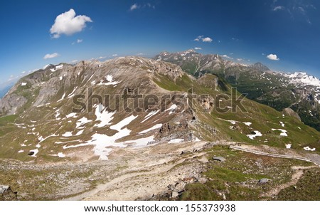the view from the Edelweisspitze - Alps - Austria