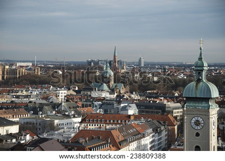 The view of Munich