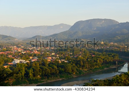 The views from Luang Prabang.