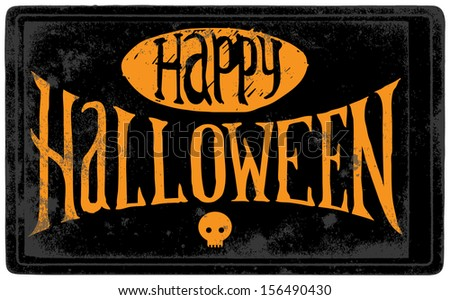 Halloween Sign Stock Photos, Images, & Pictures | Shutterstock