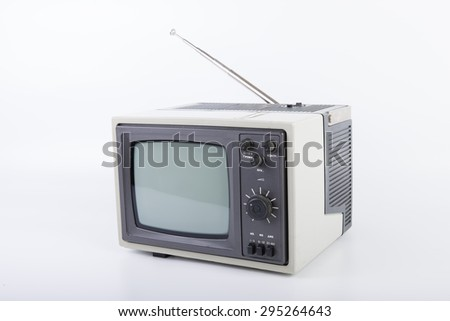 The Vintage portable TV