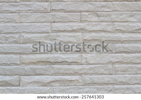 The Wall brick background close up style