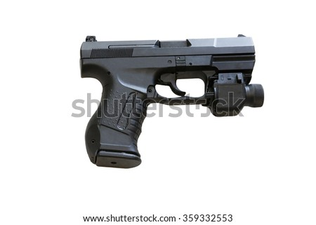 The Walther P99 is a semi-automatic pistol developed by the German