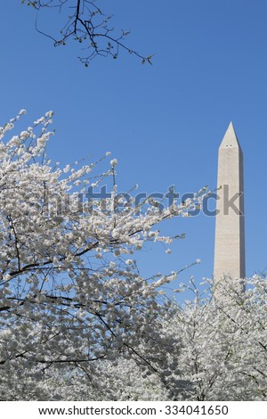 The Washington Memorial was built to commemorate George Washington (The first USA president) and it is the biggest obelisk and the world largest stone structure.