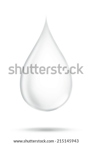 The water drop single object pass retouching to perfect for graphic design art work or other job