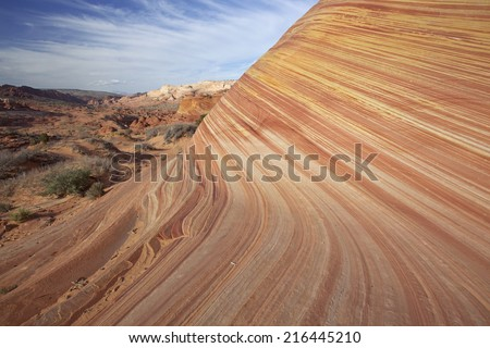 The Wave, Arizona - stock photo