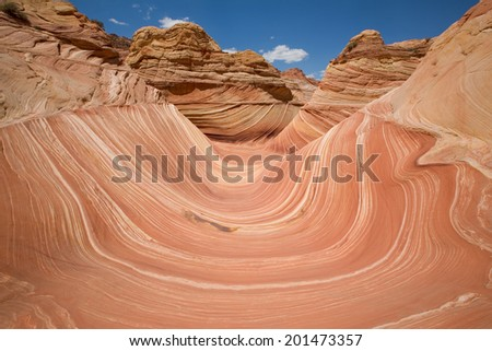 The Wave in the Paria Canyon