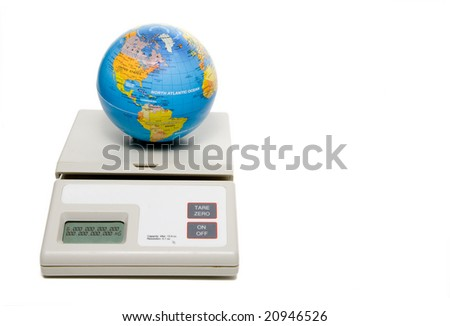 The Weight of the World - stock photo