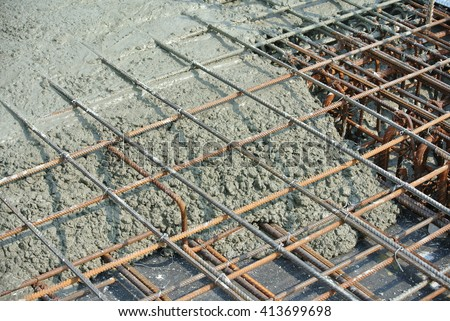 how to use rebar in concrete